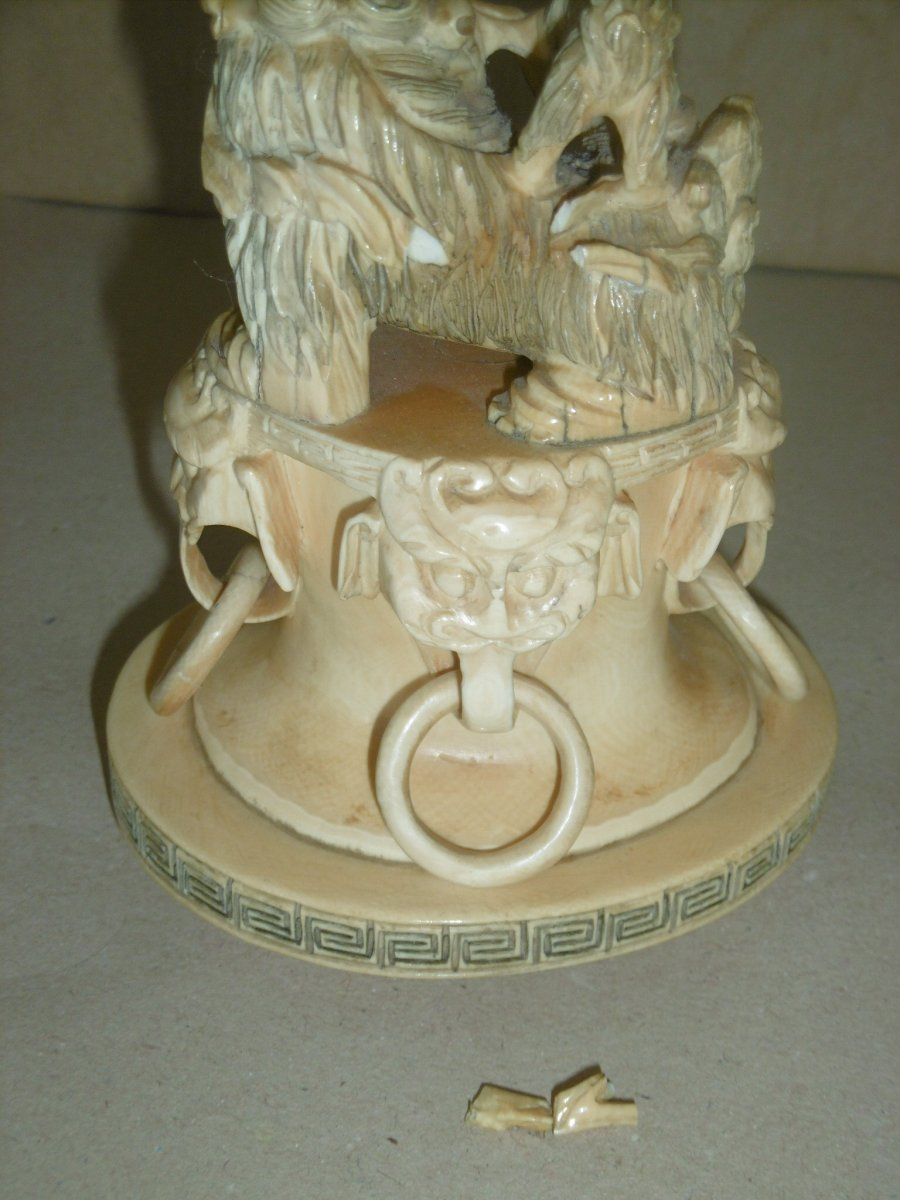 19th Century Covered Pot-photo-6