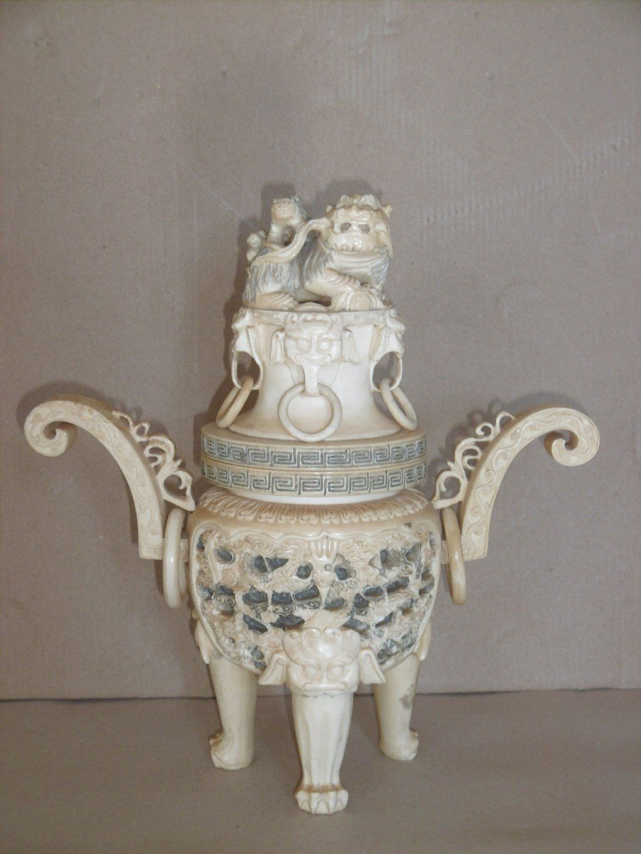 19th Century Covered Pot