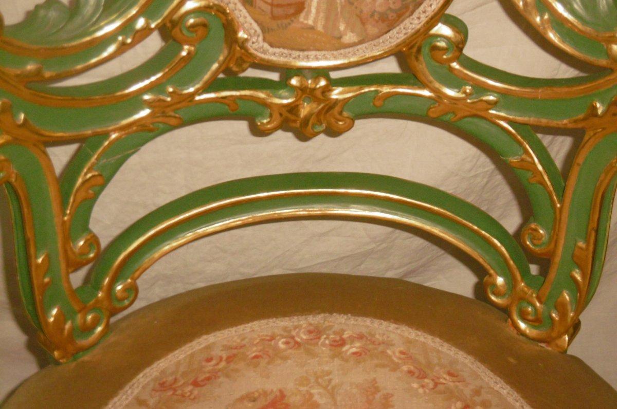 Pair Of Venetian Armchairs-photo-2