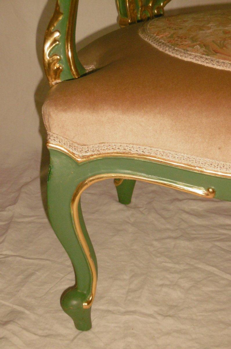 Pair Of Venetian Armchairs-photo-6