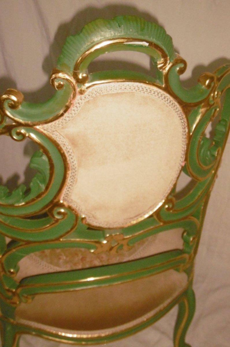 Pair Of Venetian Armchairs-photo-8