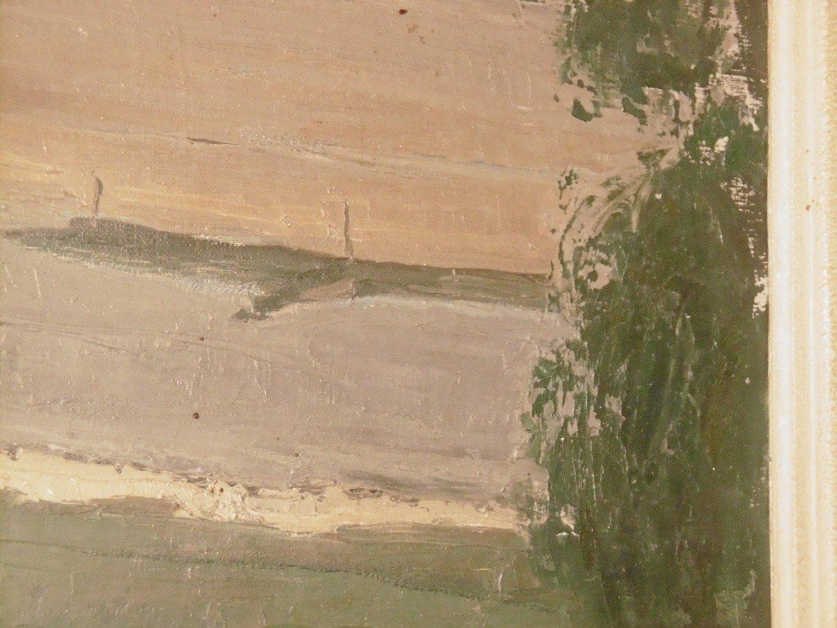 René Mallia huile sur toile-photo-2