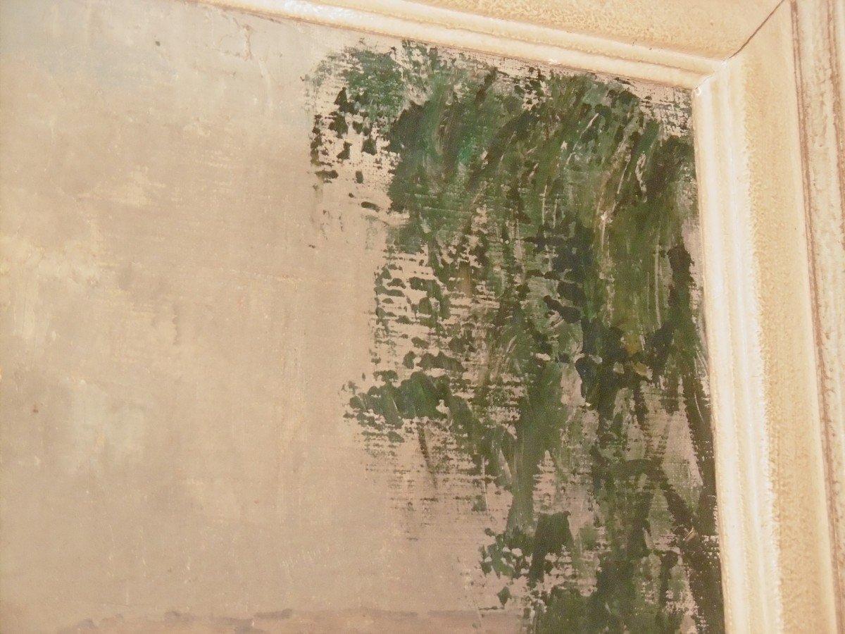 René Mallia huile sur toile-photo-3