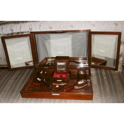 Dresser Box In Rosewood And Ivory