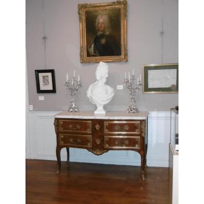 Grande Commode XIXème De Style Régence