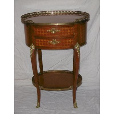 Table De Salon Ovale