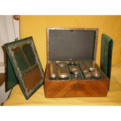 Travel Box With Necessary Toiletry