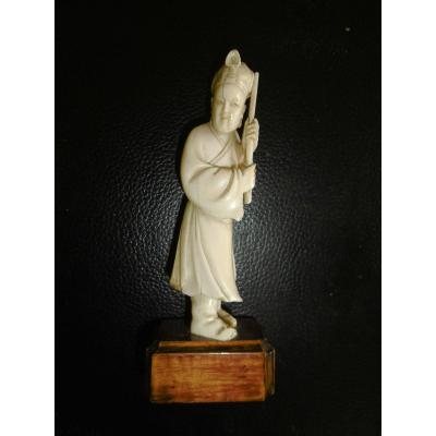 Ivory19th Statue