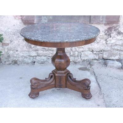 Dolphins Pedestal Table