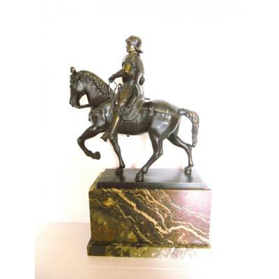 Bronze Statue De Cavalier