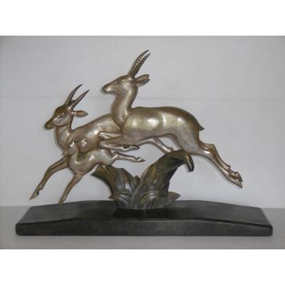 Bronze Art Deco