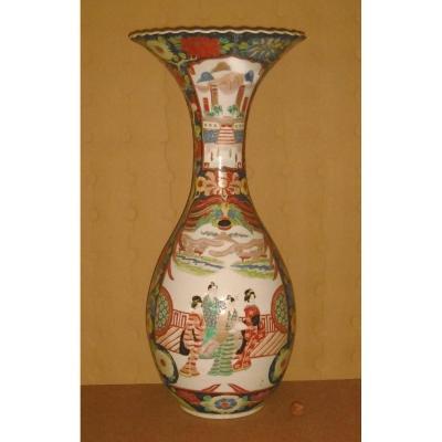 Grand Vase Chine XIXème