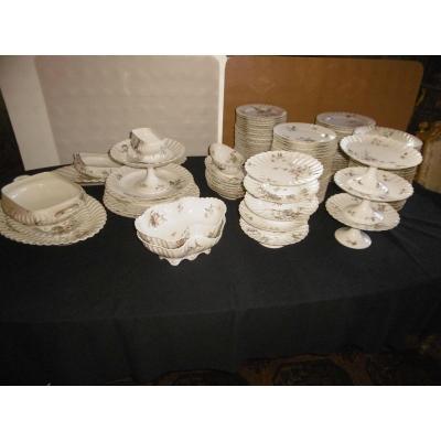 Haviland Limoges Porcelain Service For Majorelle House