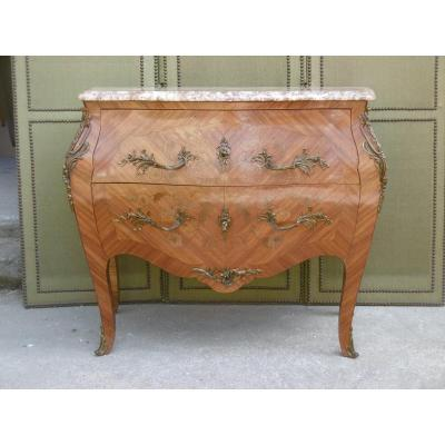 Curved Commode