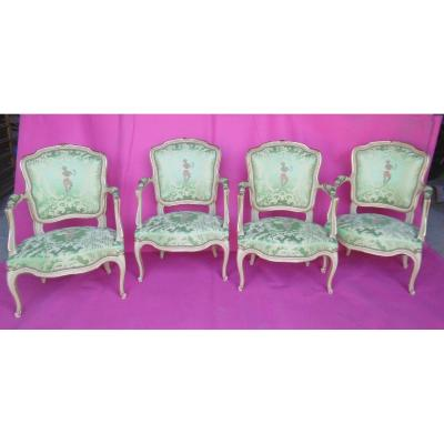 Four Armchair Suite