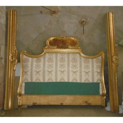 Lit Doré Louis XV