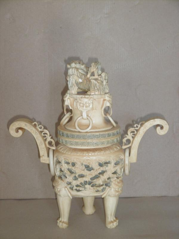 19th Century Covered Pot-photo-3