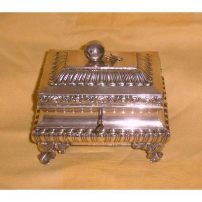 Solid Silver Box