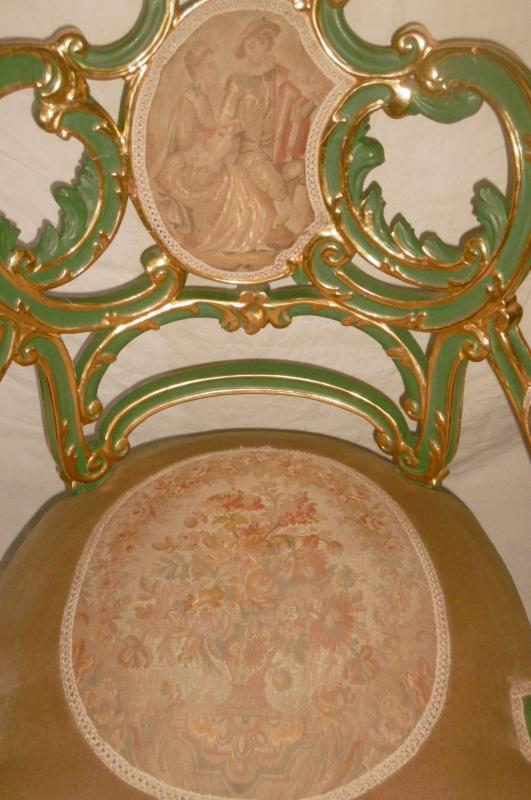 Pair Of Venetian Armchairs-photo-4
