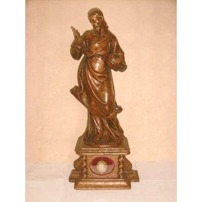 Sculpture en bois XVIIème