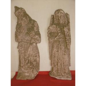 Sculptures en pierre du 13ème siècle