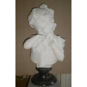 Buste en marbre de Carrare