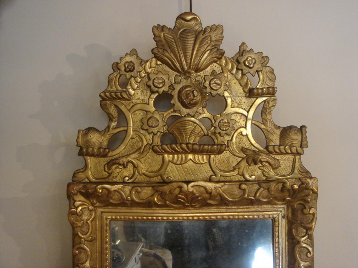 Miroir Bois Doré