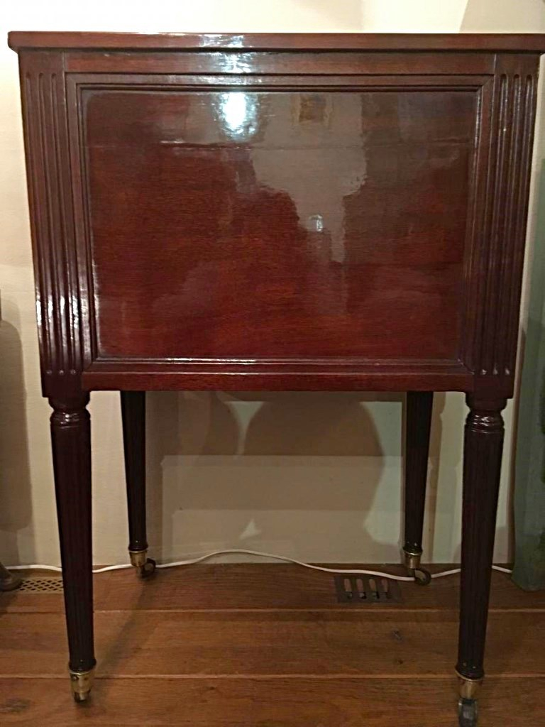 Table Chevet Ou Petite Commode Louis XVI