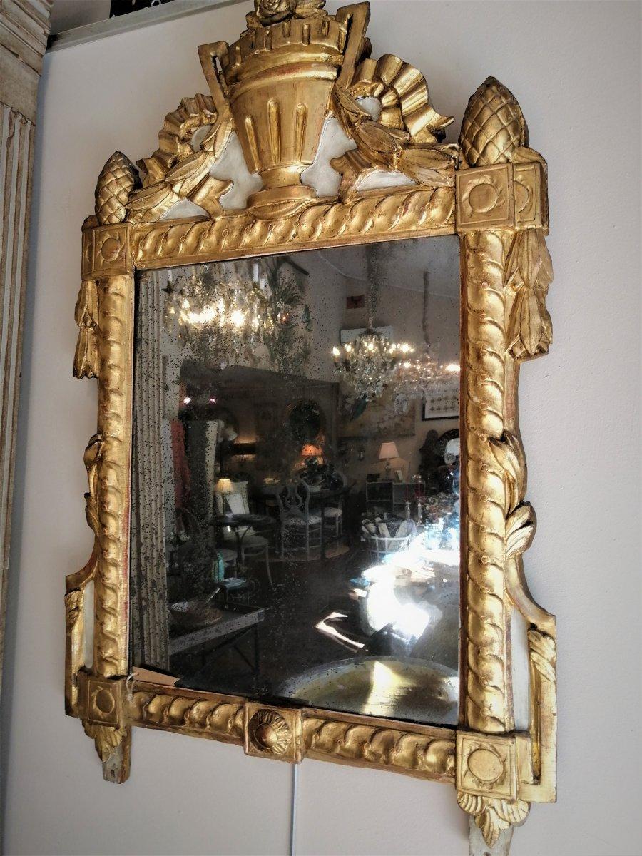 Miroir Provençal Du 18 ème Siècle