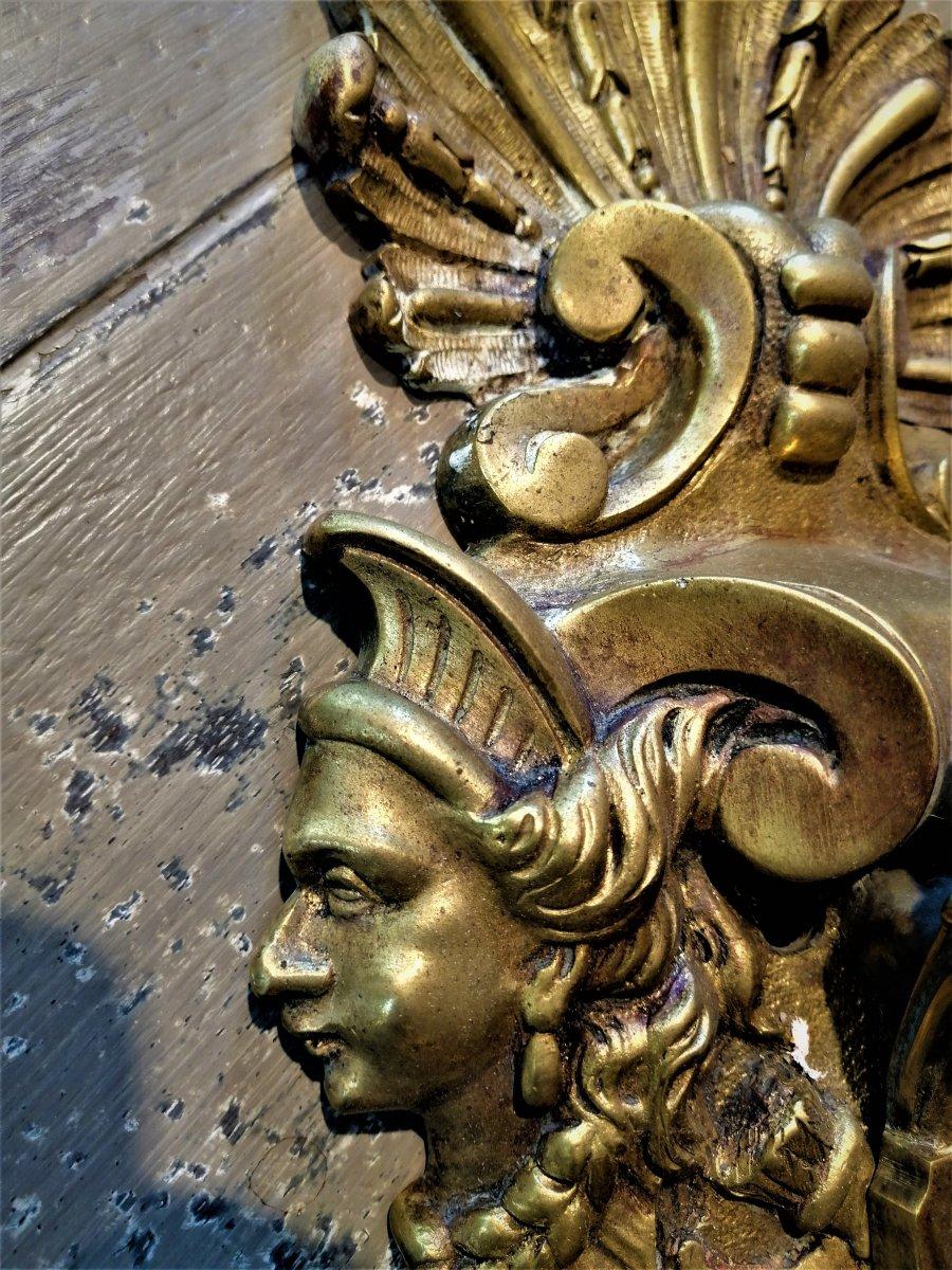Applique Bronze 19 ème Siècle-photo-2