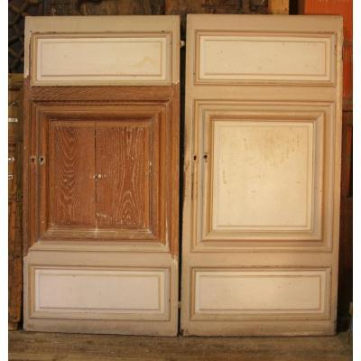 Two Woodwork Doors