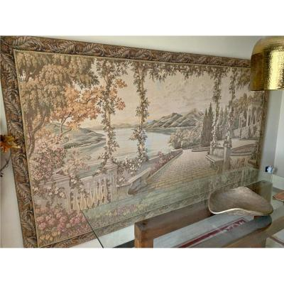"""view On The Lake"" French Mechanical Tapestry"