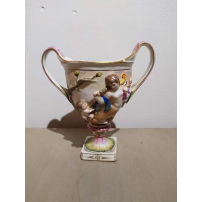 Capodimonte Porcelain Cup