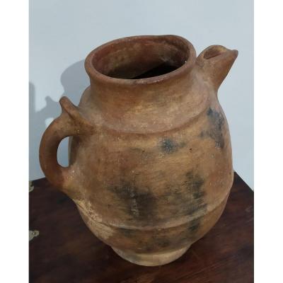 Jug Terracotta, Berber Origin, Early Twentieth.