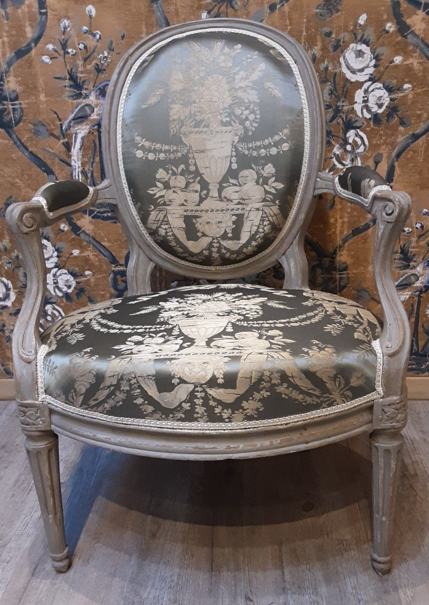 Armchairs Stamped By Dupain