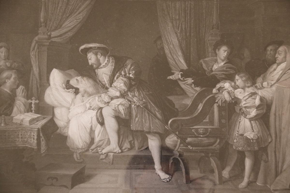 Paire De Gravures Du 19ème Siècle Par Jean-auguste-dominique Ingres -photo-3