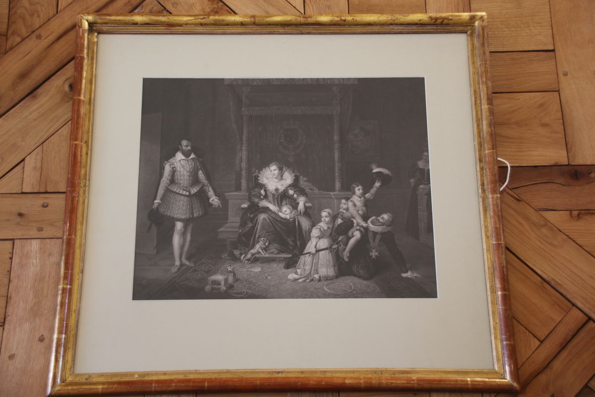 Paire De Gravures Du 19ème Siècle Par Jean-auguste-dominique Ingres -photo-4