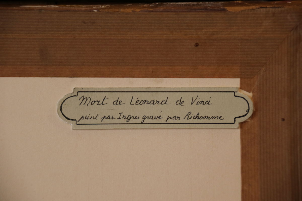 Paire De Gravures Du 19ème Siècle Par Jean-auguste-dominique Ingres -photo-2