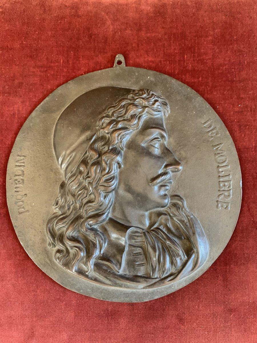 Médaillon Molière