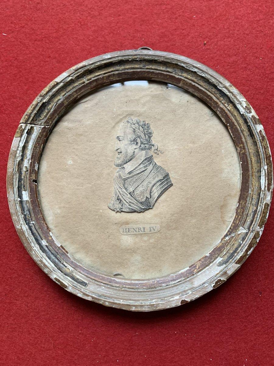 Portrait De Henri 4 Roi De France