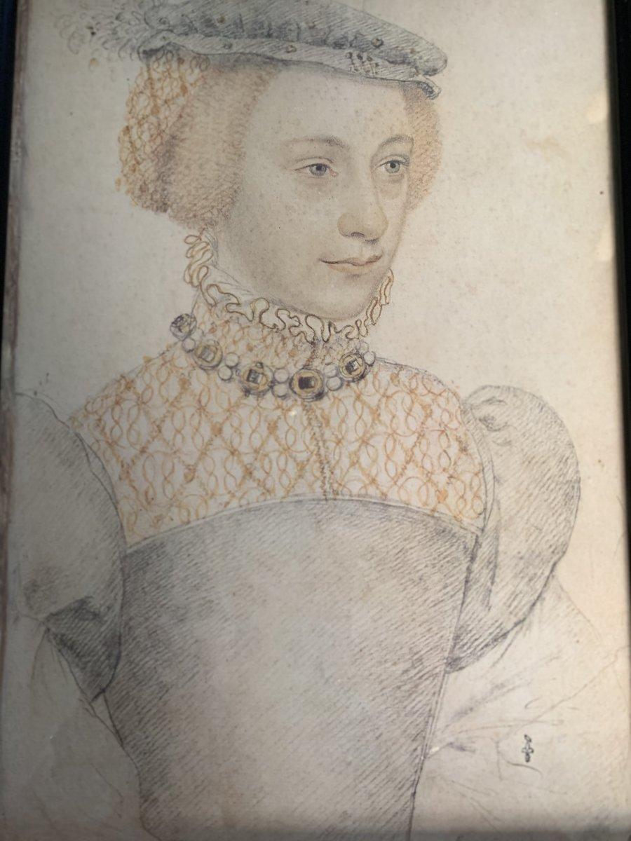 Portrait D'anne De Pisseleu, Dite Madame De Lucé.