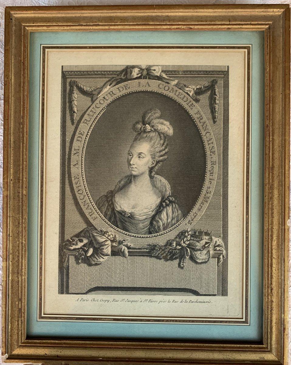 Portrait De Françoise De Raucour