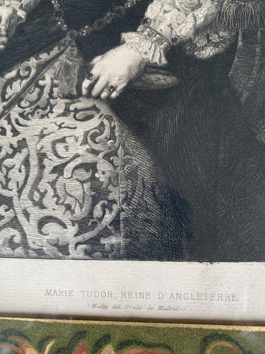 Portrait Of Marie Tudor, Queen Of England-photo-1
