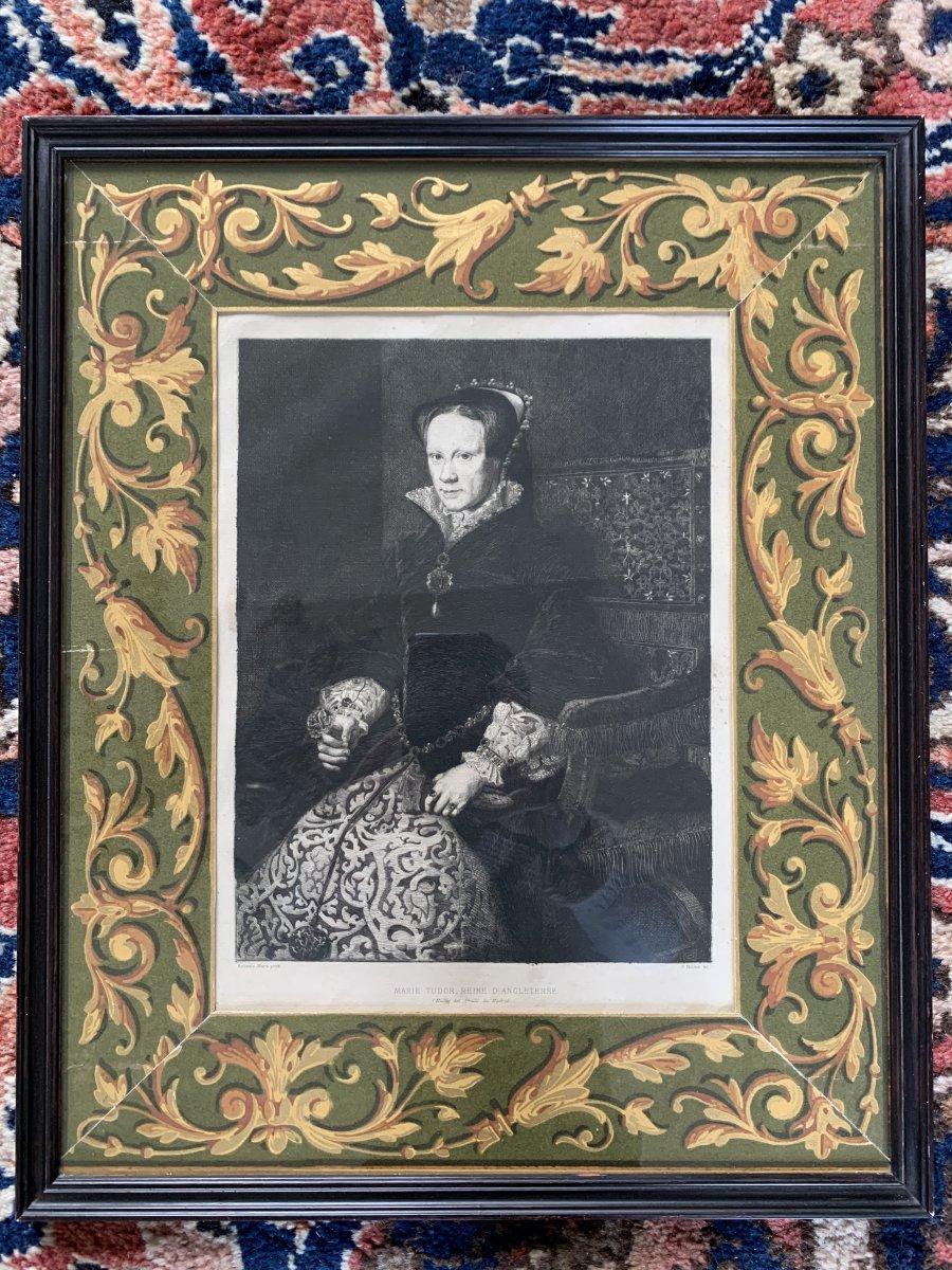 Portrait Of Marie Tudor, Queen Of England