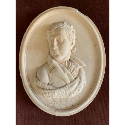 Médaillon Sir Walter Scott