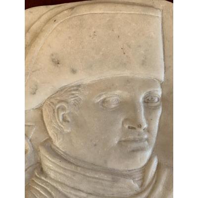 Rare Marbre Sculpté Napoleon 1er