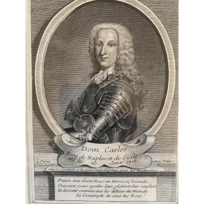 Portrait Du Roi Charles 3 d'Espagne