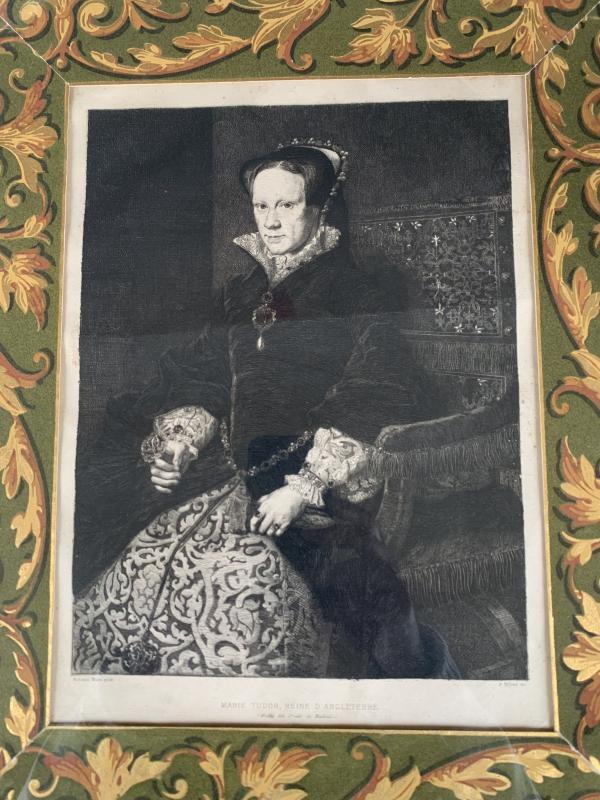 Portrait Of Marie Tudor, Queen Of England-photo-2