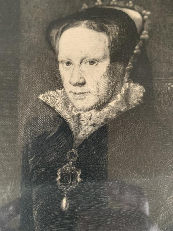 Portrait Of Marie Tudor, Queen Of England-photo-3