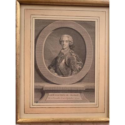 Portrait De Louis, Dauphin De France